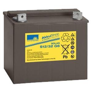 S12/32 G5 Sonnenschein Solar Series Battery