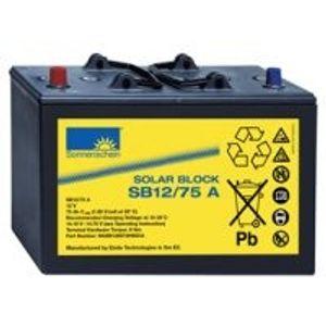 SB12/75 A Sonnenschein Solar Block Series Battery