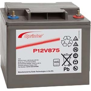 P12V875 Sprinter P FR Network Battery