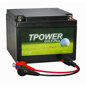 TP26-12 TPOWER Golf Trolley Battery with Torberry Lead