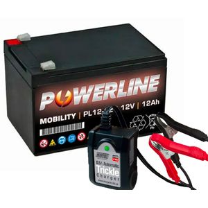 Toy Car Battery and Charger Combo 12V 12AH