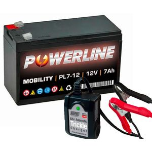 Toy Car Battery and Charger Combo 12V 7AH