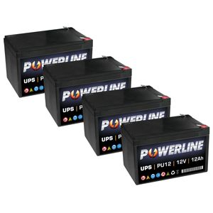 PU412 Powerline UPS Battery Pack