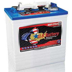 US 145 Deep Cycle Monobloc Battery 6V 251Ah Also Known As: PB6244, GC-145 10014, T-145, CR-245, 3H, GC2H US145