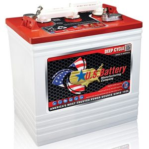 US2200 Deep Cycle Monobloc Battery 6V 232Ah  Also Known As: PB6220, AS DT, T-105, CR-225, D125, GC2