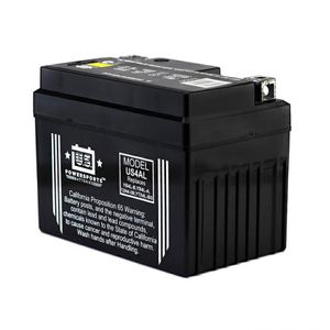 US4AL US Powersports AGM Bike Battery 12V