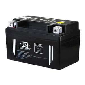 US7A US Powersports AGM Bike Battery 12V