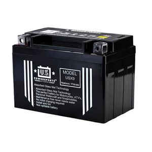 USX9 US Powersports AGM Bike Battery 12V