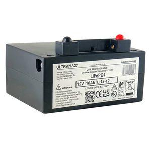ULTRA MAX Li18-12 Lithium Golf Trolley Battery 18Ah SLAUMXLI18-12G
