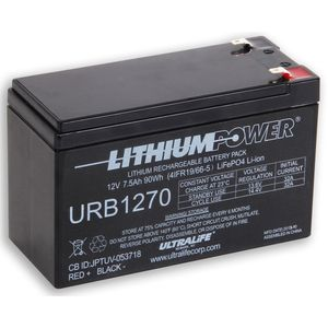 Ultralife URB1270 Lithium Battery 12V 7.5Ah