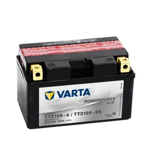 508 901 015 Varta Powersports AGM Motorcycle Battery 12V - Replaces YTZ10S-BS