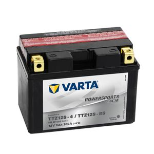 509 901 020 Varta Powersports AGM Motorcycle Battery 12V - Replaces YTZ12S-BS