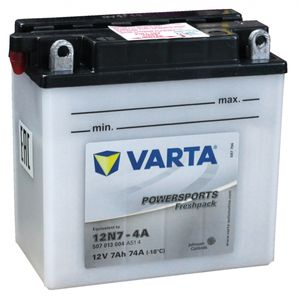 12N7-4A Varta Motorcycle Battery 507 013