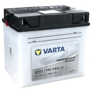 525 015 022 Varta Powersports Freshpack Motorcycle Battery