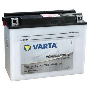Y50-N18L-A Varta Powersports Freshpack Batterie De Moto 520 012 020 (Y50N-18L-A2)