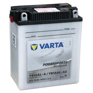 YB12AL-A Varta Powersports Freshpack Batterie De Moto 512 013 012 (YB12AL-A2)