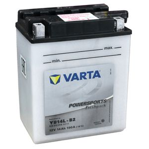 YB14L-B2 Varta Powersports Freshpack Batterie De Moto 514 013 014