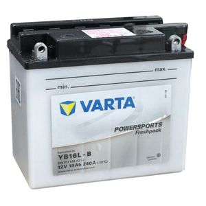 YB16L-B Varta Powersports Freshpack Motorcycle Battery 519 011 019