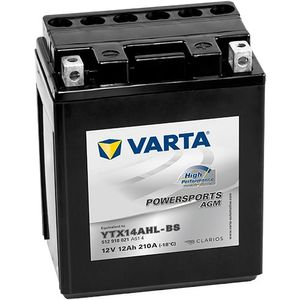 512 918 021 Varta Powersports Motorcycle Battery AGM