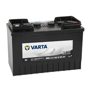 663 (I4) VARTA PROMOTIVE BLACK 12V 110Ah 610047068