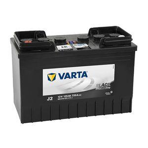 648 (J2) VARTA PROMOTIVE BLACK 12V 125Ah 625014072