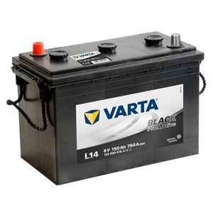 L14 VARTA PROMOTIVE BLACK 6V 150Ah 150 030 076