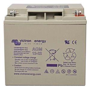 Victron Energy AGM Deep Cycle Battery 12V 22Ah BAT212200084