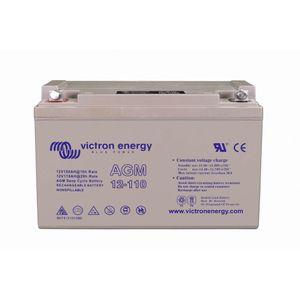 Victron Energy AGM Deep Cycle Battery 12V 110Ah BAT412101084