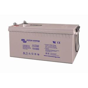 Victron Energy AGM Deep Cycle Battery 12V 220Ah BAT412201084