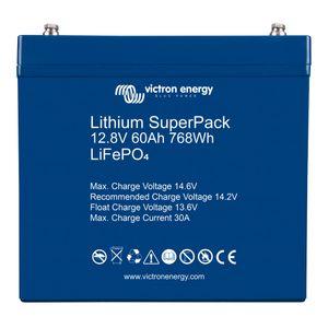Victron Energy Lithium Super Pack Battery 12.8V 60Ah BAT512060705