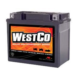 12V12-B Westco Motorcycle Battery 12V 10Ah