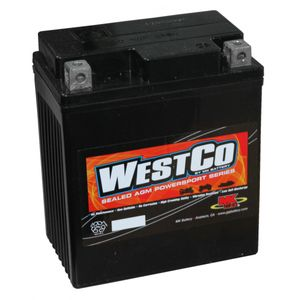 12V7L-B Westco Motorcycle Battery 12V 7Ah