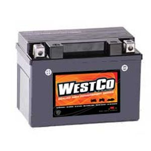 12V9-B Westco Motorcycle Battery 12V 8Ah