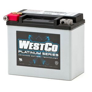 WCP12 Westco Platinum Motorcycle Battery 12V 10Ah (SVR12)