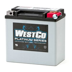 WCP14L Westco Platinum Motorcycle Battery 12V 12Ah