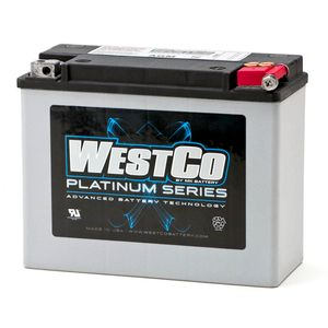 WCP18 Westco Platinum Motorcycle Battery 12V 22Ah Y50-N18L-A2 (SVR18)