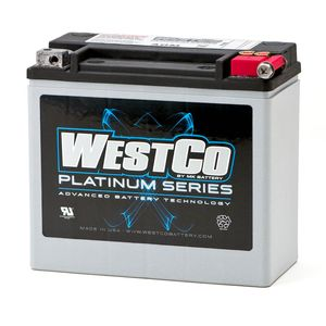 WCP20L Westco Platinum Motorcycle Battery 12V 18Ah
