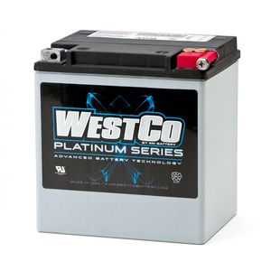 WCP30 Westco Platinum Batterie De Moto 12V 26Ah - Replaces YIX30L-BS