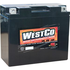 YT12B-4 Westco Motorcycle Battery 12V 10Ah  (12V12B-4)