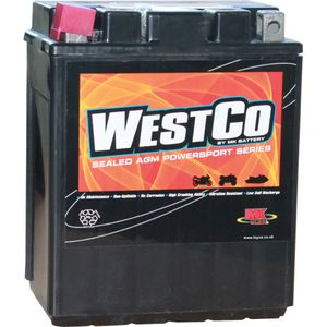 YB14-A2 / YB14-B2 / 12V14-A2 Westco Motorcycle Battery 12V 14Ah