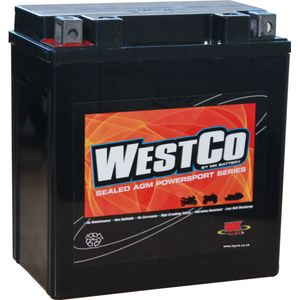 12V16-A2 Westco Motorcycle Battery 12V 14Ah
