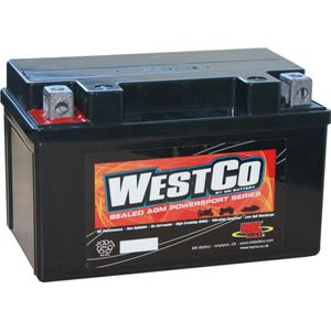 12V7A-BS Westco Motorcycle Battery 12V 7Ah