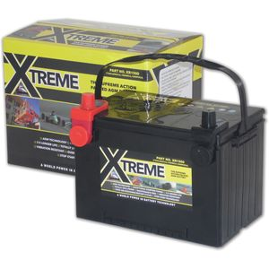 Xtreme Start Stop Series XR-1500 AGM Battery 75Ah 1360A