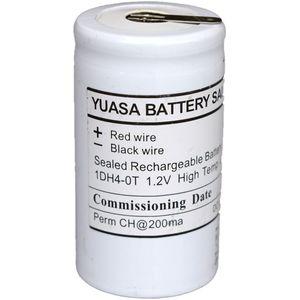 1DH4-0T Yuasa NiCd Emergency Lighting Battery 1.2V 4Ah