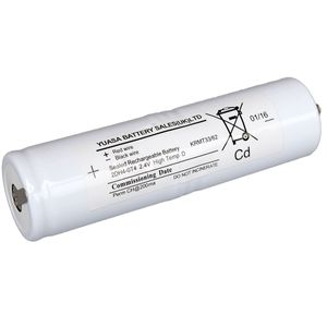 2DH4-0T4 Yuasa NiCd Emergency Lighting Battery 2.4V 4Ah
