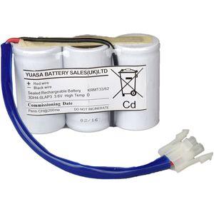 3DH4-0LAP3 Yuasa NiCd Emergency Lighting Battery 3.6V 4Ah