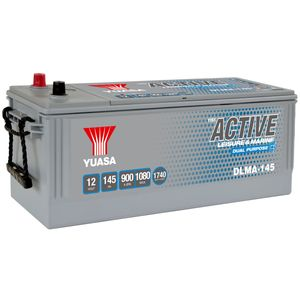 DLMA-145 Yuasa YBX ACTIVE Leisure & Marine Dual Battery 12V