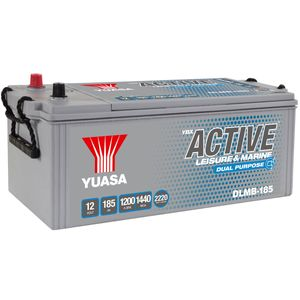 DLMB-185 Yuasa YBX ACTIVE Leisure & Marine Dual Battery 12V