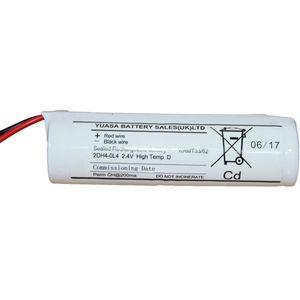 2DH4-0L4 Yuasa NiCd Emergency Lighting Battery 2.4V 4Ah