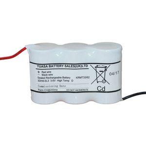 3DH4-0L3 Yuasa NiCd Emergency Lighting Battery 3.6V 4Ah